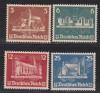 DR Mi. Nr. 576 - 579 (*) Marken aus Block 3 OSTROPA 1935