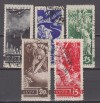 Sowjetunion Mi. Nr. 494 - 498 o 20 JT Beginn 1. Weltkrieg