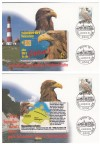 Telefonkartenbriefe Seeadlerschutz