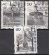 Berlin 1980 Mi. Nr. 634 - 636 o Berliner Ansichten