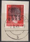 Lokalausgabe Netschkau Mi. Nr. 6 I o Doppeldruck auf Briefst�ck