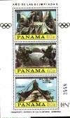 Panama Block 113 ** Olympische Spiele 1980