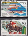 Berlin 1986 Mi. Nr. 751 - 752 o Schwimm-EM