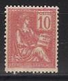 Frankreich Mi. Nr. 91 ** Allegorische Darstellung 10 C