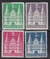 Amerik. u. Brit. Zone Mi. Nr. 97 - 100 II ** Markwerte weite Treppe