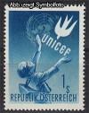 �sterreich Mi. Nr. 933 UNICEF 1949 **