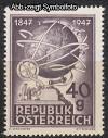 �sterreich Mi. Nr. 837 Telegraphie 100 Jahre **