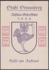 Lokalausgabe Strausberg Block 3 (*)