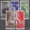 Sowjetunion Mi. Nr. 494 - 498 o JT Ausbruch 1. WK
