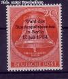 Berlin 1954 Mi. Nr. 118 ** Wahl Bundespr�sidenten