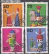 Bund Mi. Nr. 705 - 708 o Altes Holzspielzeug
