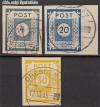 SBZ Mi. Nr. 53 - 55 o Ziffernserie
