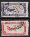 Sowjetunion Mi. Nr. 326 - 327 o Luftpostkonferenz