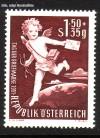 �sterreich Mi. Nr. 972 Tag der Briefmarkel 1952 **