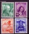 Schweiz Mi. Nr. 331 - 334 Pro Juventute 1938 **