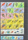 Lot Tiermotive Fische o  ( S 1494 )