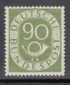 Bund Mi. Nr. 138 ** TOP Posthorn 90 Pfennig geprüft
