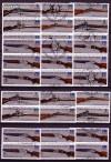 DDR Zdr. v. Mi. Nr. 2376 - 2381 Jagdwaffen 1978 kompl. 12 Zdr. o