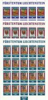 Liechtenstein Kleinbogen Mi. Nr. 1061 - 1063 ** Tibetsammlung