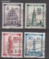 Franz. Zone Baden Mi. Nr. 38 - 41 A o Freiburg