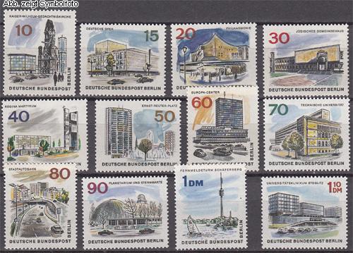 Briefmarken Berlin 1965 Michel Nr 254 265 Postfrisch Das Neue