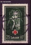 Saarland Mi. Nr. 304 o Rotes Kreuz 1951