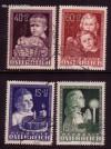 Österreich Mi. Nr. 929 - 932 Glückliche Kindheit 1949 o