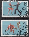 Berlin 1983 Mi. Nr. 698 - 699 o Sportereignisse