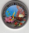 Palau 1 $ 1994 Farbmünze Clownfisch