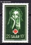 Saarland Mi. Nr. 304 ** Rotes Kreuz 1951