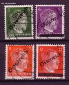 Österreich Mi. Nr. 660 - 663 Marken DR mit Aufdruck o