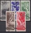 Sowjetunion Mi. Nr. 494 - 498 o  JT des Ausbruch 1. WK