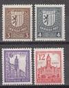 SBZ Mi. Nr. 150 - 155 x ** Abschiedsserie mit Wasserzeichen X