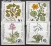 Bund Mi. Nr. 1108 - 1111 ** Gef�hrd. Pflanzen
