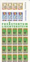 Liechtenstein Kleinbogen Mi. Nr. 1081 - 1083 ** Ereignisse