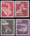 Berlin 1978 Mi. Nr. 582 - 586 ** Industrie u. Technik