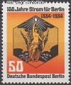 Berlin 1984 Mi. Nr. 720 ** Strom f�r Berlin