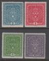 Österreich Mi. Nr. 204 - 207 I ** Freimarken Wappen