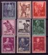 Schweiz Mi. Nr. 377 - 385 Historische Darstellung **