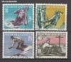 Liechtenstein Mi. Nr. 334 - 337 Sport II o