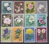 Japan Mi. Nr. 743 - 754 ** Blumenserie 1961