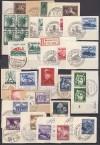 DR Superlot Briefst�cke mit Sonderausgaben und Sonderstempel