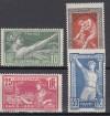 Frankreich Mi. Nr. 169 - 172 **  Olympische Spiele 1924