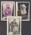 Sowjetunion Mi. Nr. 536 - 538 **  Todestag Tolstoj