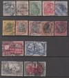 DR Mi. Nr. 53 - 66 o Ausgabe Reichspost komplett