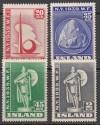 Island Mi. Nr. 204 - 207 ** Weltausstellung NY 1939