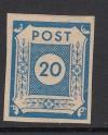 SBZ Farbabart Rarität Mi. Nr. 54 b ** geprüft preusischblau