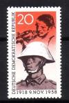 DDR Mi. Nr. 662 ** Soldat der Volksarmee