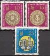 DDR Mi. Nr. 1090 - 1092 ** Fr�hjahrsmesse 1965