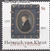 Bund Mi. Nr. 2283 ** Heinrich von Kleist